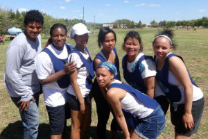 Mont Piquet Farm netball team