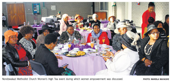Women's High Tea in Cape Town